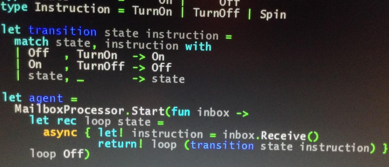 F# State Machine